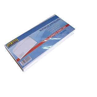 Bao Thư Toppoint Trắng Cửa Sổ Có Keo 10.8 X 23.5 Cm (50 Cái/Lốc)