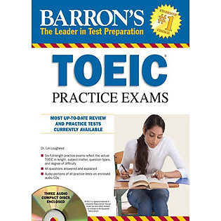 Baron's TOEIC Practice Exams (Sách + 4CD)