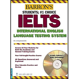 Barron's IELTS International English (Kèm 2CD) - Tái Bản