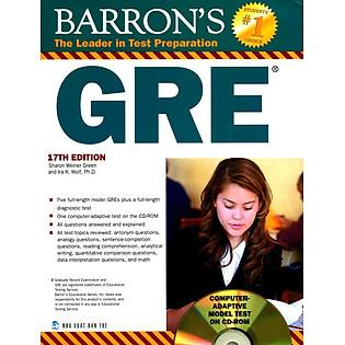 Barron's Gre 17Th Edition (Không CD)