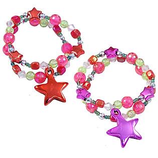 Vòng Tay Ngôi Sao Giáng Sinh Pink Poppy - BCF-391