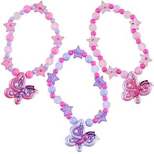 Vòng Tay Bướm Xinh Pink Poppy - BCG-455