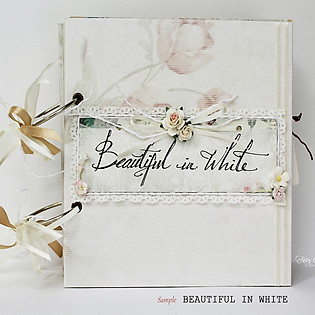 Scrapbook Beautiful In White