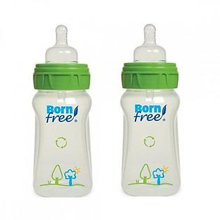 Bộ 2 Bình Nhựa PP Born Free BF00170 (260Ml)