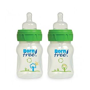 Bộ 2 Bình Nhựa PP Born Free BF00229 (160Ml)