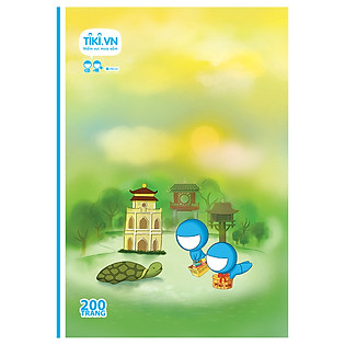 Tập Sinh Viên Tiki Lan Tỏa Niềm Vui - Hoàn Kiếm Lake - 200 Trang