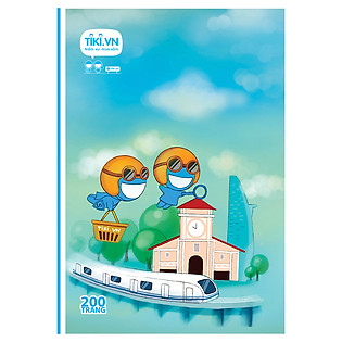 Tập Sinh Viên Tiki Lan Tỏa Niềm Vui - Bến Thành Market - 200 Trang