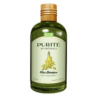 Dầu Gội Purite By Provence Nuôi Dưỡng Phục Hồi Olive 250Ml - 1010100211 (250Ml)