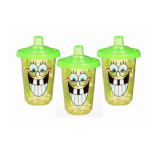 Bộ 3 Cốc Chống Đổ Spongebob Munchkin - 10541