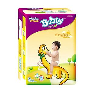 Tã Bobby Fresh Siêu Mỏng Gói Lớn Size S (32 Miếng)