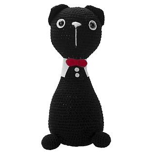 Mèo Đứng Đen Tudle Cat WT-013BLA-L Bobicraft (24 Cm X 10 Cm X 10 Cm)