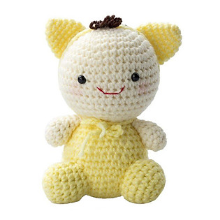 Mèo Mướp Yellow Cat WT-022YEL-M Bobicraft (16 Cm X 10 Cm X 9 Cm)