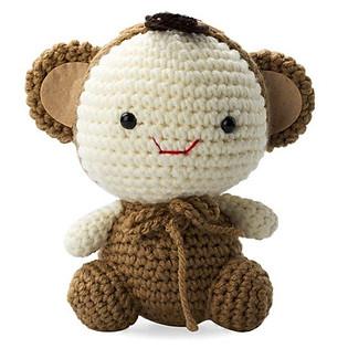 Khỉ Vui Vẻ Happy Monkey WT-028BRW-M (16 Cm X 10 Cm X 9 Cm)