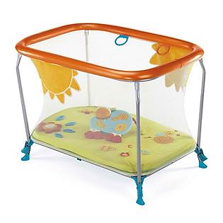 Nôi Chơi Brevi Soft & Play Green Farm BRE580-115