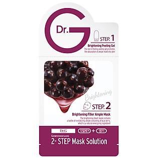 Mặt Nạ 2 Bước Làm Sáng Da Dr.G Brightening Filler Ample Mask (20Ml - 3Ml)