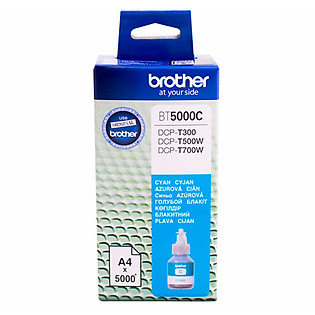 Mực In Brother BT5000C Ink Cho DCP-T300/T700W/MFC-T800W (Xanh Lục)