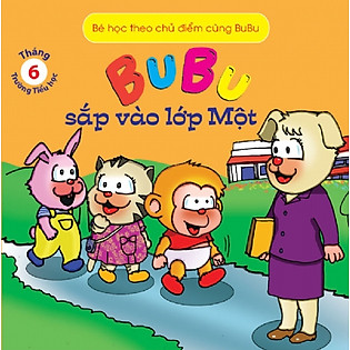 Bé Học Theo Chủ Điểm Cùng Bubu - Bubu Sắp Vào Lớp Một