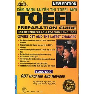New Cliffs Toefl Preparation Guide  - Song Ngữ (Tái Bản - Kèm 3CD)