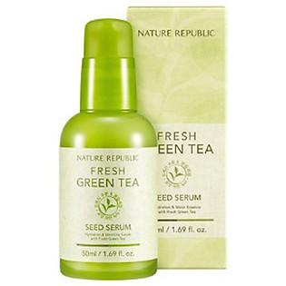 Tinh Chất Dưỡng Chiết Xuất Trà Xanh Nature Republic Fresh Green Tea Seed Serum (50Ml)
