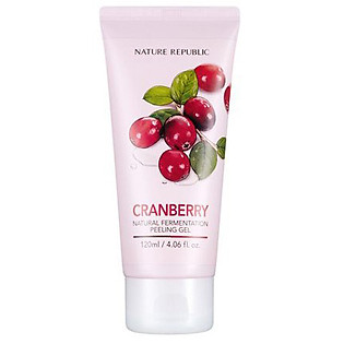Tẩy Tế Bào Chết Nature Republic Real Nature Cranberry Peeling Gel (120Ml)