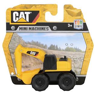 Đồ Chơi Lắp Ráp Toy State CAT - Xe Đào Đất Mini CAT34607E
