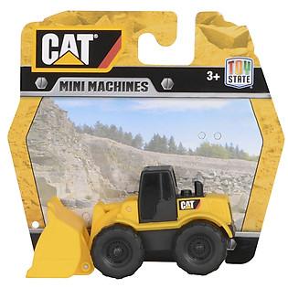 Đồ Chơi Lắp Ráp Toy State CAT - Xe Xúc 4 Bánh Mini CAT34607W