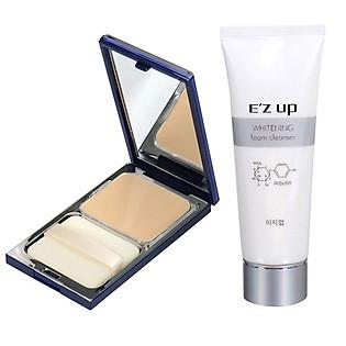 Bộ Sản Phẩm E'Zup: Sữa Rửa Mặt Whitening 30G + Phấn Nền Pure Bright Lasting # Màu 21 - FP50700133 (15G)
