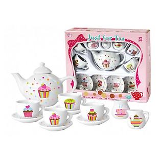 Bộ Ấm Trà 13 Món Champion Hình Bánh Cupcake CH11053-13