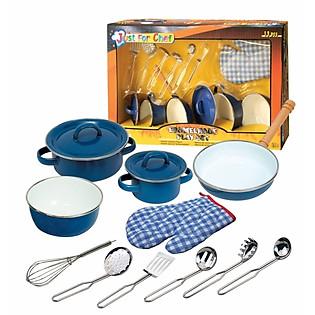 Bộ Nhà Bếp Thông Minh Just For Chef (13 Món - Xanh) - CH20313