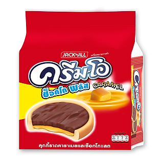 Bánh Quy Creamo Choco Plus Choco Caramel 18G