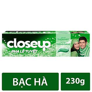 Kem Đánh Răng Close-Up Hương Bạc Hà 230G - 21160262