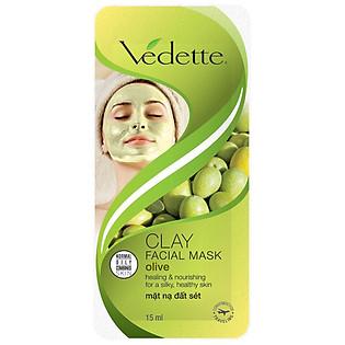 Mặt Nạ Đất Sét Vedette Olive 15G