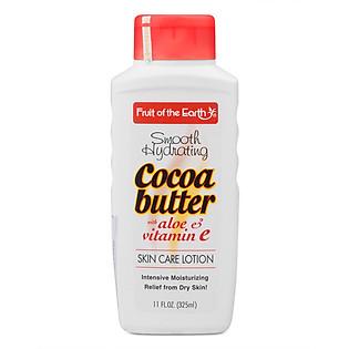 Sữa Dưỡng Thể Cocoa Butter Vitamin E Và Aloe Vera Fruit Of The Earth 325Ml - F21610