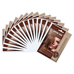 Combo 15 Gói Kem Nhuộm Xả Tóc  Fitocosmetics Henna (50Ml/ Gói)