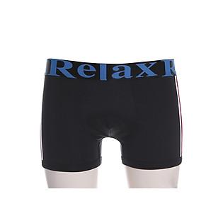Quần Boxer Thun Lạnh Giãn 4 Chiều Relax RLTK007 - Đen