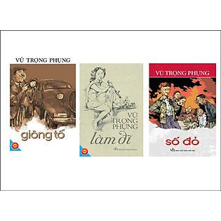 Combo Giông Tố - Số Đỏ - Làm Đĩ (Đinh Tị Books)