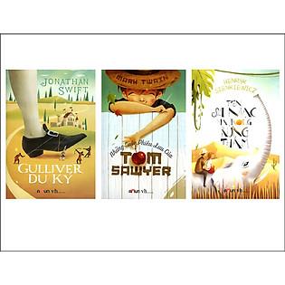 Combo Trên Sa Mạc Và Trong Rừng Thẳm + Những Cuộc Phiêu Lưu Của Tom Sawyer + Gulliver Du Ký
