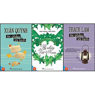 Combo Thạch Lam - Nguyễn Minh Châu - Thi Nhân Việt Nam (Đinh Tị Books)