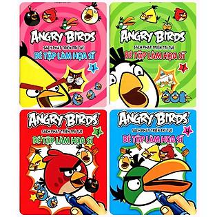 Combo Angry Birds - Bé Tập Làm Họa Sĩ
