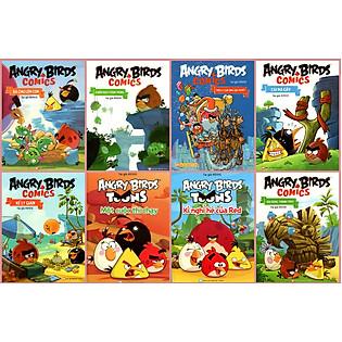 Combo Angry Birds Comic