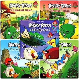 Combo Angry Birds Truyện Tranh Vui Nhộn