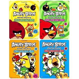 Combo Angry Birds - Cùng Vui Dán Hình