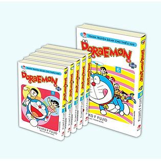 Combo Doraemon Plus (Trọn Bộ 6 Tập) - Phiên Bản Bìa Gập