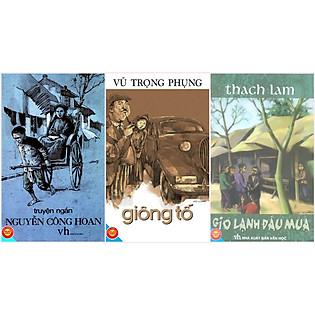 Combo Truyện Ngắn Nguyễn Công Hoan - Giông Tố - Gió Lạnh Đầu Mùa (Đinh Tị Books)