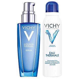 Combo Nước Khoáng Dưỡng Da Vichy (150 Ml) Và Tinh Chất Dưỡng Ẩm 48H Vichy-Aqua Serum 2014 (30Ml)