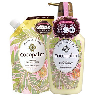 Combo Dầu Gội Cocopalm Túi (500Ml) Và Dầu Xả Cocopalm Chai (600Ml)