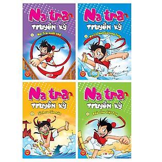 Combo Natra Truyền Kỳ (Trọn Bộ 4 Cuốn) - Tặng Kèm Bộ Lắp Ghép