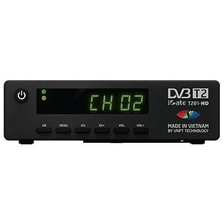 Đầu Thu Truyền Hình Kỹ Thuật Số Mặt Đất DVB-T2 Igate T201HD