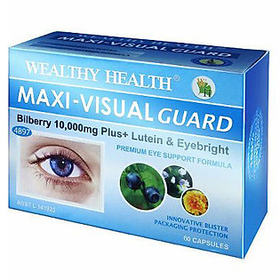 Thực Phẩm Chức Năng Viên Uống Bổ Mắt WEALTHY HEALTHMAXI-VISUAL GUARD (30 Viên )