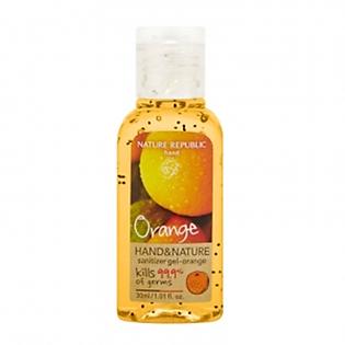 Gel Rửa Tay Khô Nature Republic Hand & Nature Sanitizer Gel-Orange (30Ml)